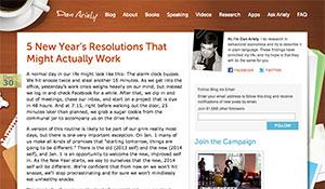 Resoluções de Final de Ano